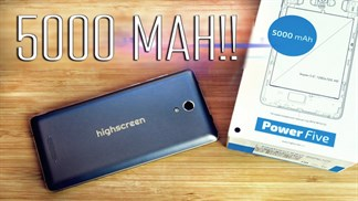 Smartphone Nga thiết kế đẹp, pin 5000mAh ra mắt với giá hấp dẫn