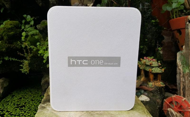 Mở hộp HTC One E9 Dual SIM