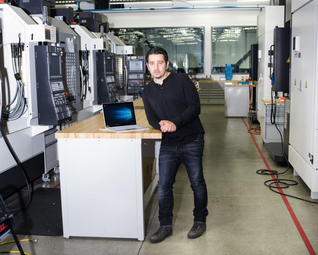 Panos Panay và máy tính Surface Book