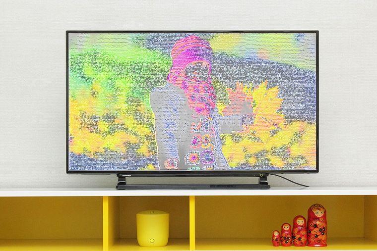 Tivi bị sọc màn hình