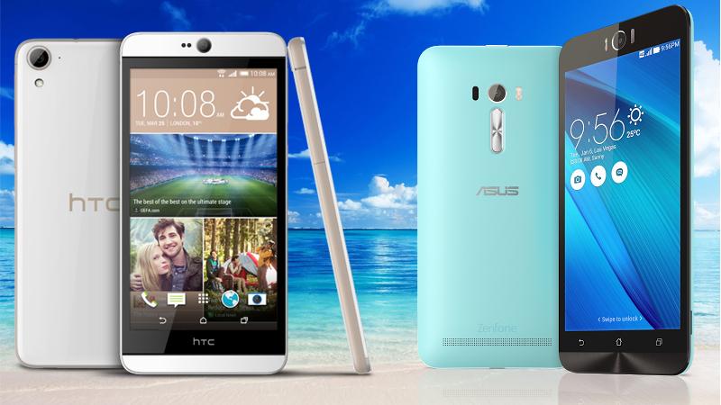 HTC Desire 826 Selfie vs Zenfone Selfie