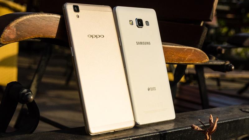 OPPO R7s vs Galaxy A7