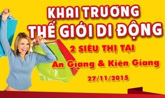 Tưng bừng khai trương siêu thị Thegioididong tại An Giang, Kiên Giang