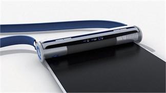 Samsung sắp tung smartphone màn hình dạng cuộn?