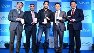 Bộ đôi smartphone Vivo thiết kế bắt mắt, nhận dạng vân tay 360 độ siêu nhanh trình làng