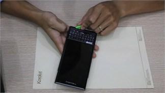 Khám phá nội thất bên trong của BlackBerry Priv: Rất khó mở!