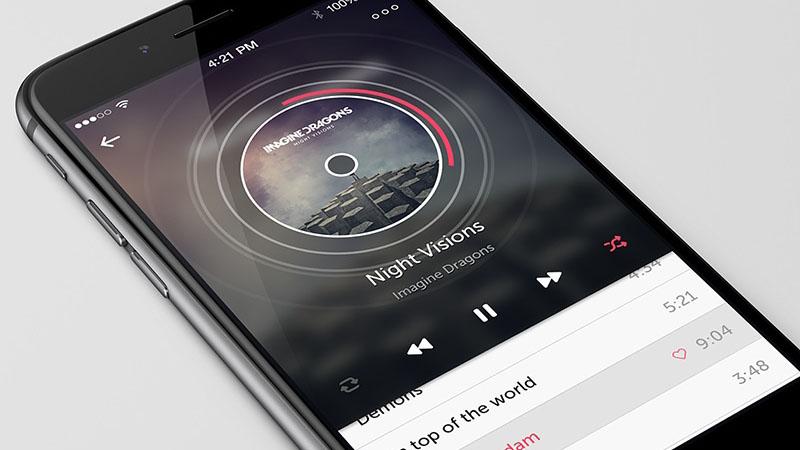 music-on-apple-iphone