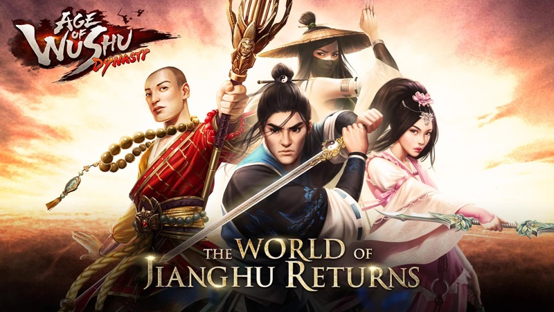 Age of Wushu Dynasty: Cửu Âm  Chân Kinh
