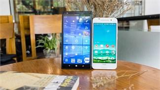 Đọ sức Windows 10 Mobile và Android 6.0: Kẻ tám lạng, người nửa cân (Phần 1)