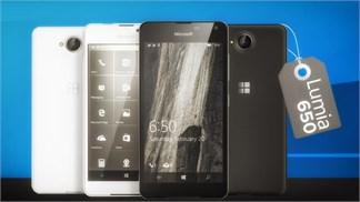Chưa ra mắt nhưng Lumia 650 khung nhôm đã lên kệ với giá bán gần 6 triệu