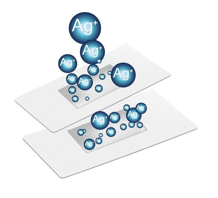 Ion Ag+ khử mùi, kháng khuẩn
