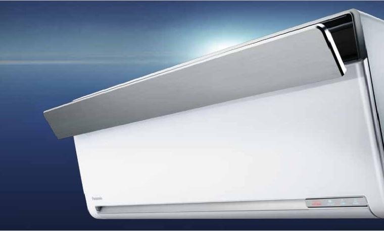 Dòng máy lạnh Inverter cao cấp Sky Series của Panasonic có thiết kế sang trọng