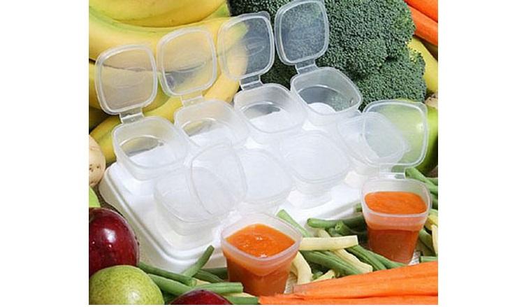 Nấu chín thực phẩm, bữa ăn dặm mà bạn muốn bảo quản