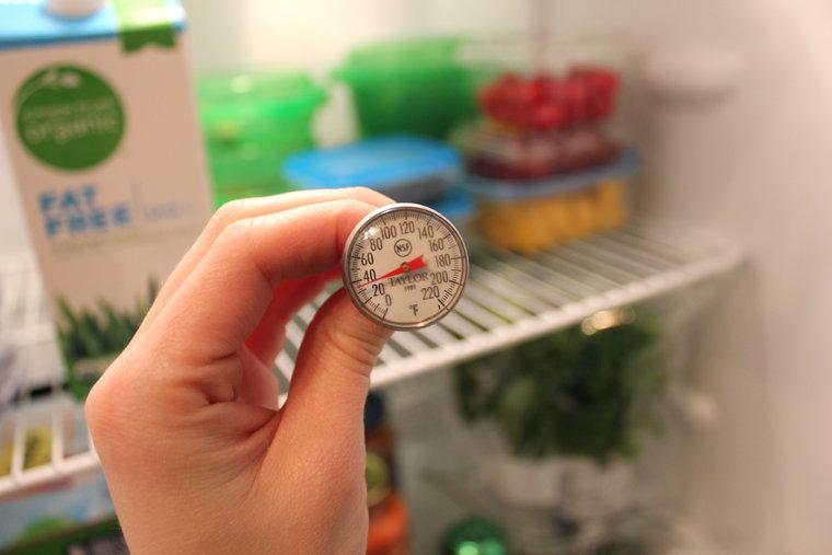 Hãy dùng nhiệt kế kiểm tra chính xác