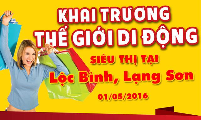Tưng bừng khai trương siêu thị Lộc Bình, Lạng Sơn