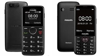 Philips ra mắt thị trường Việt 2 mẫu điện thoại phổ thông với pin chờ 143 ngày