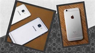 """[So sánh thiết kế] Liệu Samsung có """"học tập"""" gì iPhone 6s cho Galaxy C5 & C7?"""