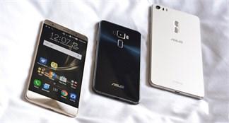 Trên tay và đánh giá nhanh bộ ba Zenfone 3, Zen 3 Deluxe, Zen 3 Ultra