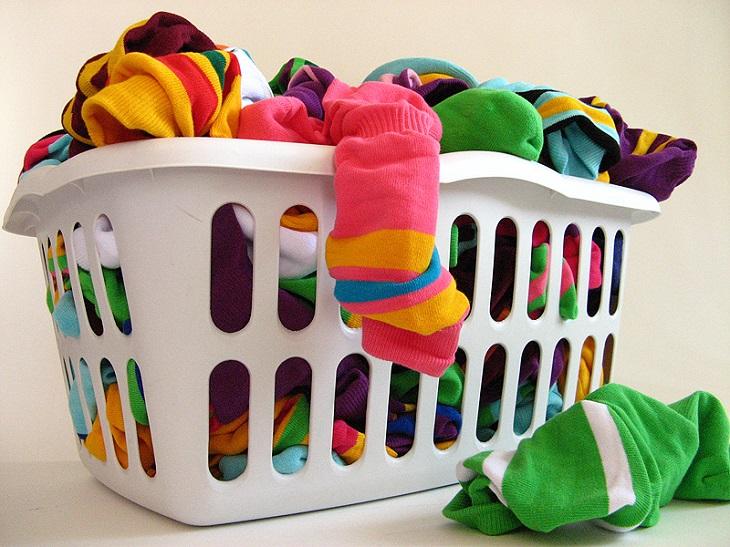 Đa số mọi người thường không phân loại hoặc phân loại áo quần không đúng cách
