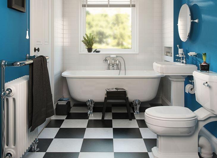 Không nên đặt máy giặt trong nhà tắm vì nhà tắm có độ ẩm cao