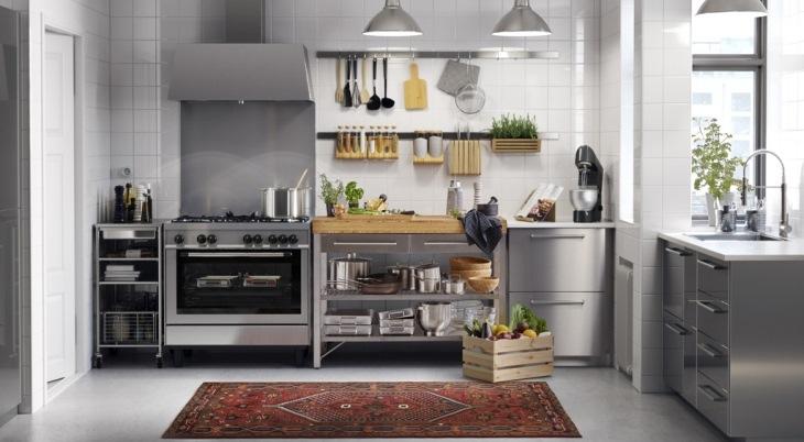 Bếp thường là nơi có nhiệt độ cao trong nhà