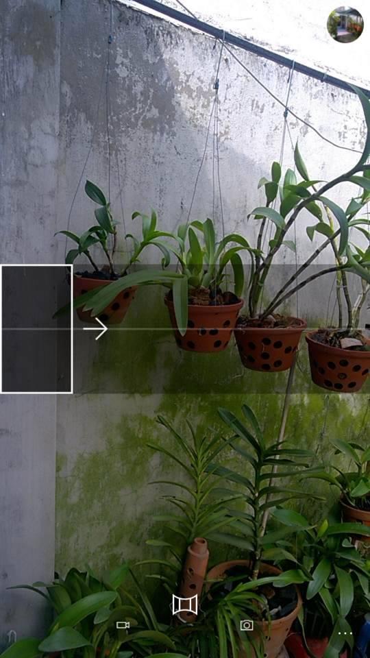 Camera tren Windows 10 Mobile vua hoi sinh tinh nang chup anh Panorama