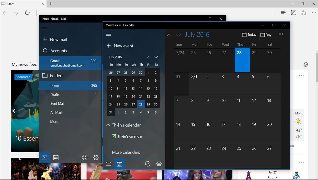 Trải nghiêm Windows 10 Anniversary