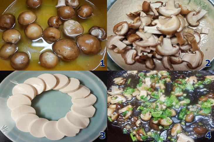 cách làm 2 món chay thơm ngon từ nấm
