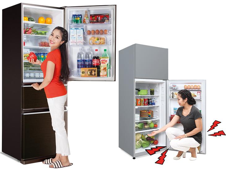 Vì sao nên chọn tủ lạnh 3 ngăn riêng biệt từ Mitsubishi Electric
