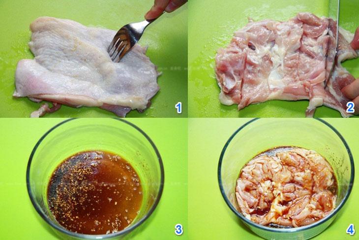 Cách làm gà quay bằng lò vi sóng