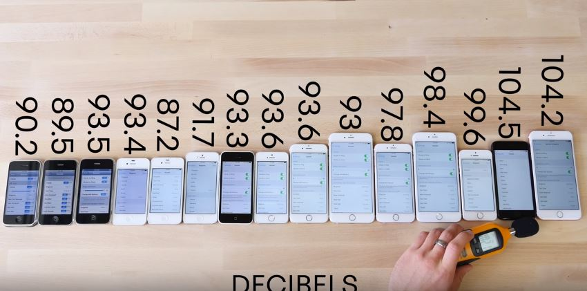 Thử nghiệm tốc độ, hiệu năng 15 chiếc iPhone, từ iPhone đến iPhone 7
