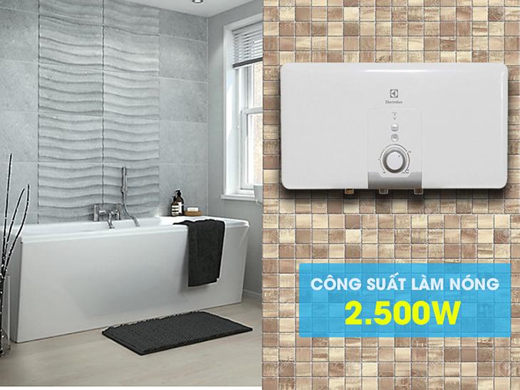 Bình nóng lạnh Electrolux EWS30DDX-DW 30 lít