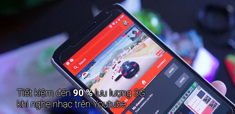 Mẹo nghe nhạc Youtube tiết kiệm đến 90% lưu lượng 3G cho Android