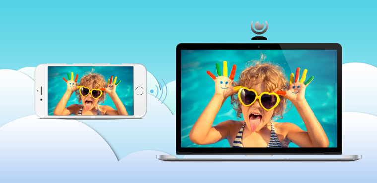 Biến iPhone thành webcame cho máy tính hay camera theo dõi