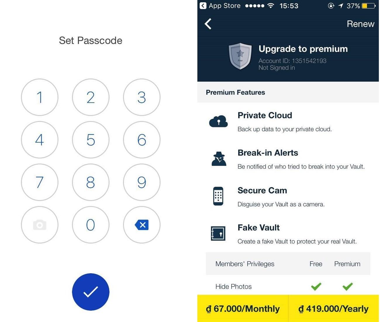 Vault iOS: Giúp bạn ẩn đi tất cả dữ liệu