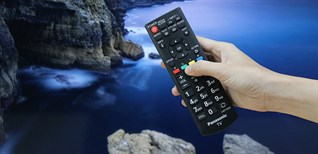 Cách sử dụng remote tivi Panasonic D300V, C400V, D400V