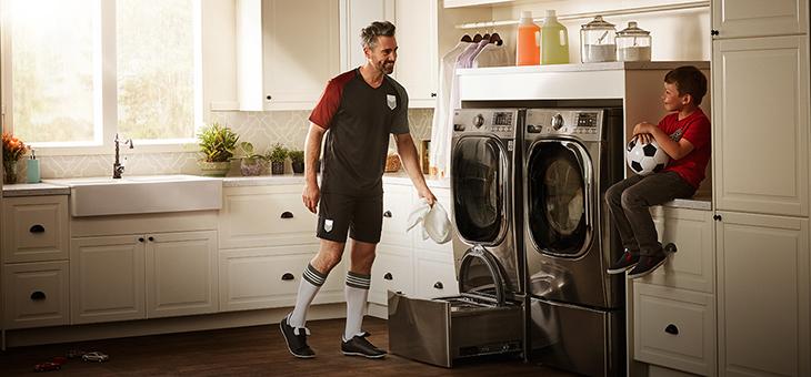 Máy giặt thiết kế siêu độc của SAMSUNG tại triển lãm công nghệ CES 2017 - 210444