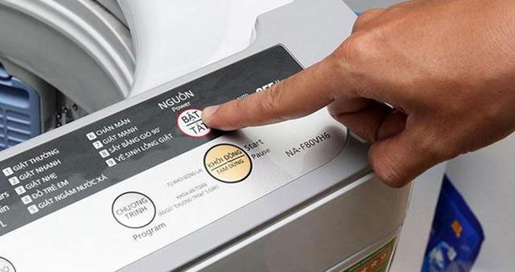 Nguyên nhân máy giặt không tự động tắt nguồn sau khi giặt xong?
