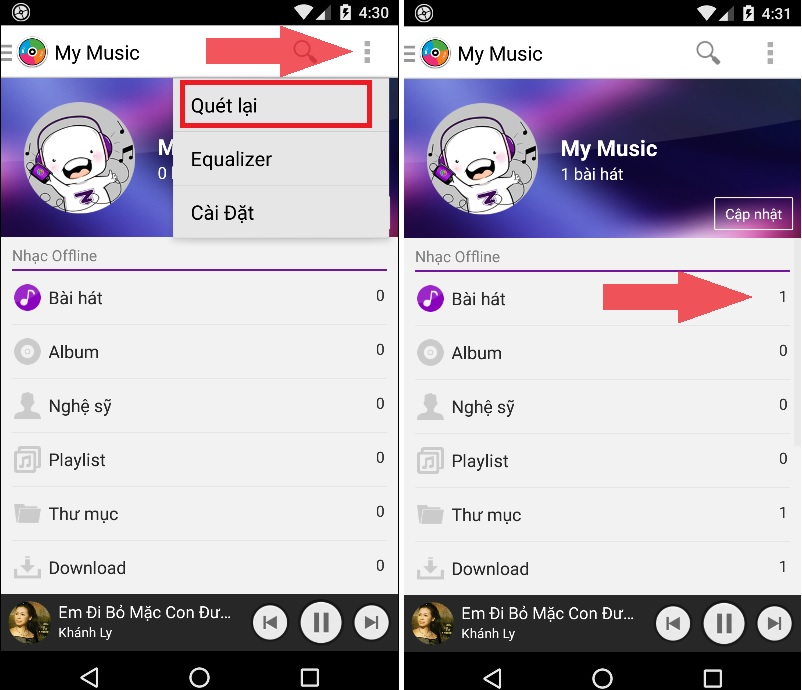 Cách tải miễn phí những bài hát chất lượng cao trên Zing Mp3