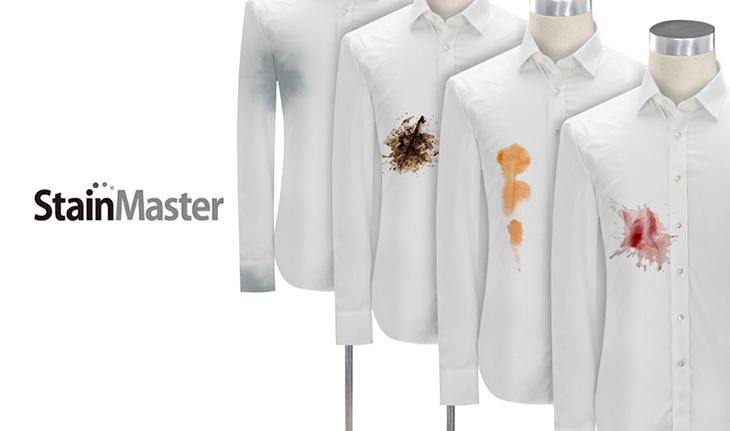 StainMaster công nghệ giặt nước nóng trên máy giặt Panasonic.