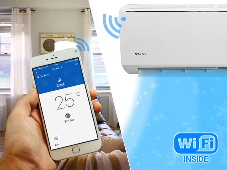 Điều khiển máy lạnh bằng smartphone