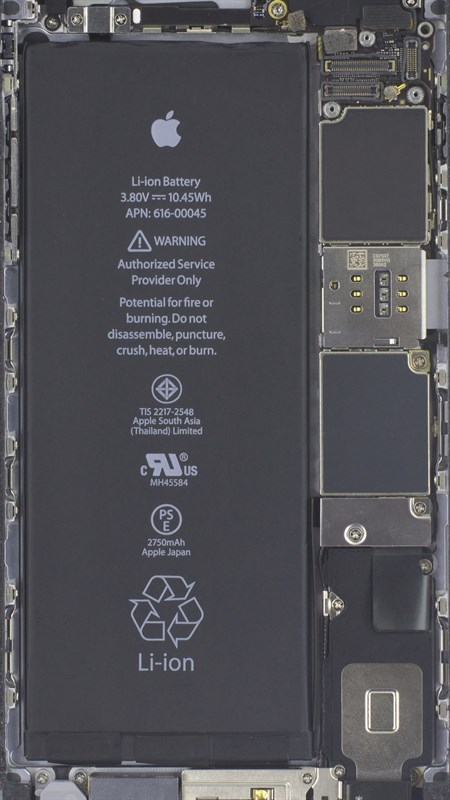 Hình của iPhone 6S Plus