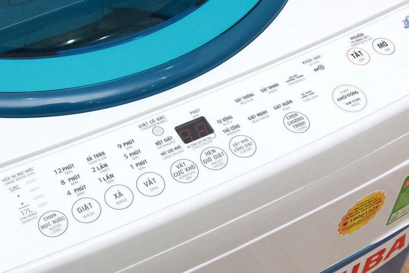 Top 5 máy giặt Toshiba bán chạy nhất tháng 05/2017