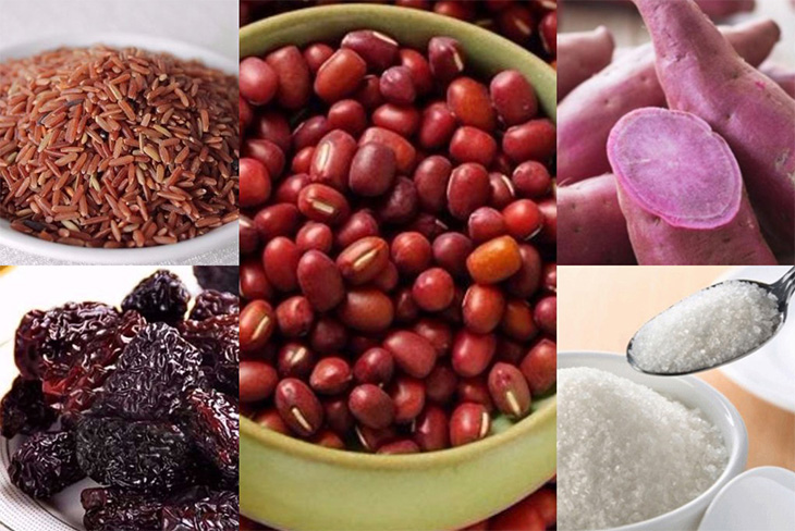 Cháo khoai gạo lứt dành cho người đau dạ dày