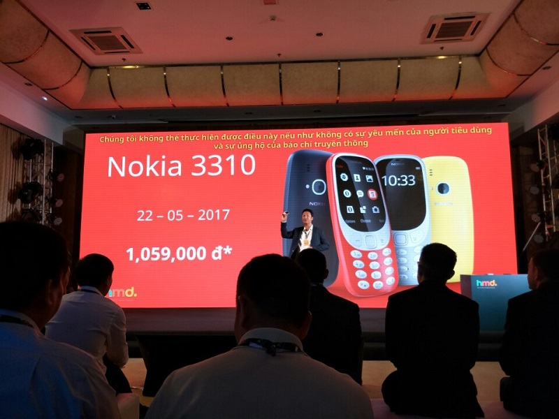 giá Nokia 3310 2017