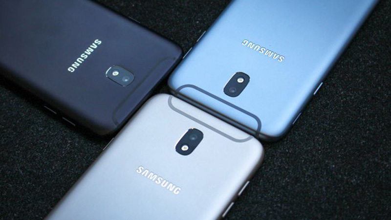 Galaxy J7 Pro có thiết kế đẹp, dải ăng-ten ngộ nghĩnh