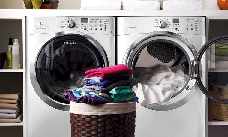 Máy giặt sấy- giải pháp hong khô quần áo hiệu quả cho ngày mưa