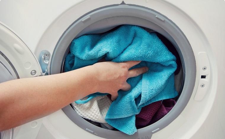 Lượng quần áo giặt bị quá tải