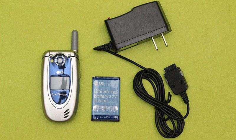 LG VX5200 là chiếc điện thoại đầu tiên Shannon Liao