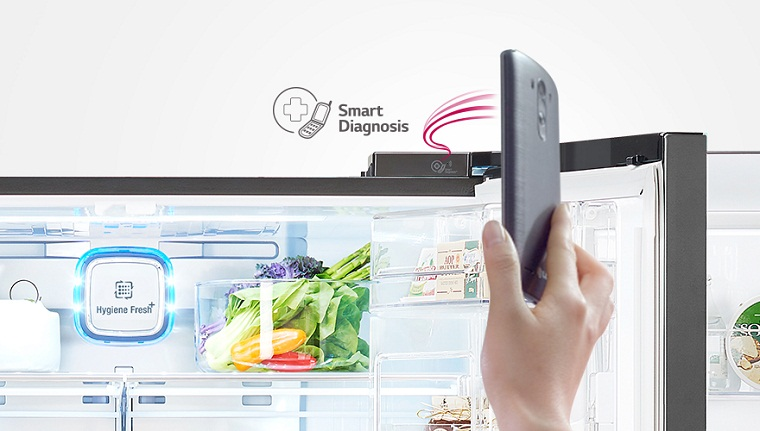 Chẩn đoán và khắc phục sự cố của tủ lạnh bằng điện thoại với Smart Diaogsis